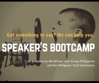 Speaker Bootcamp (organizer/facilitator)