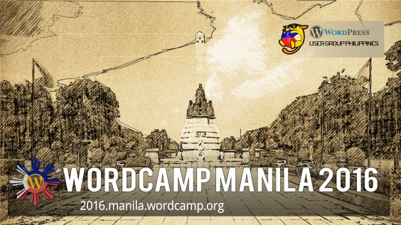WordCamp Manila 2016 (co-organizer)